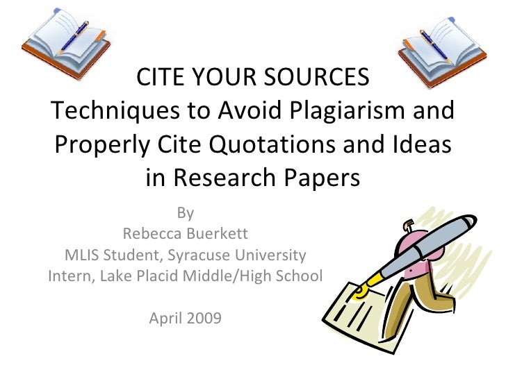 cite sources in research paper Check out our research guides citing is easier with easybibcom and a little bit are you looking for more information on how to cite different sources in.