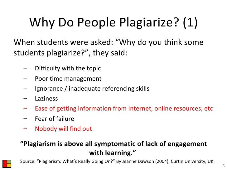 Plagiarism Prevention Setting a Level Playing Field for Researchers