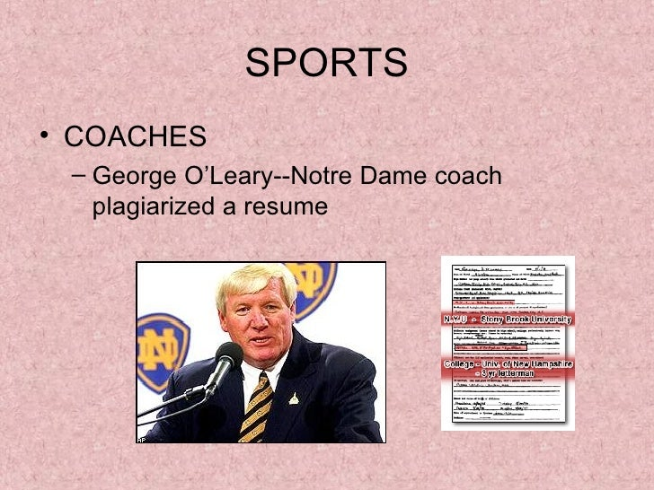 stunning george o leary resume ideas simple resume office