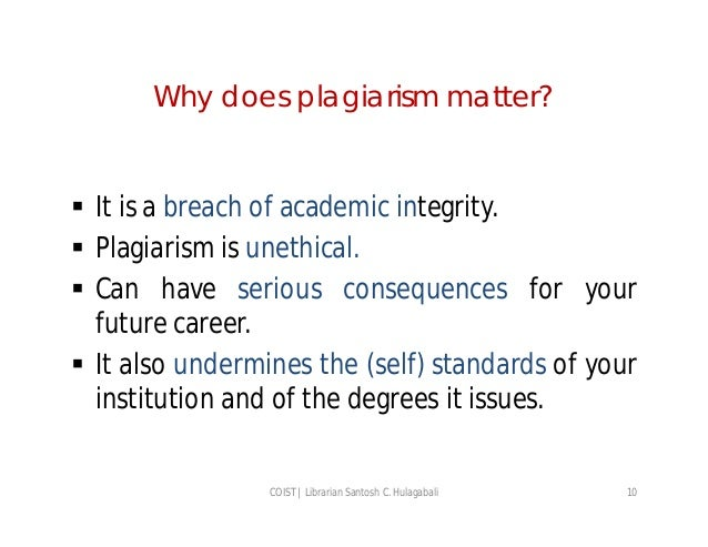 an understanding of plagiarism Many students do not understand when and how in their papers they should  acknowledge (cite) the use of materials written by others in high school they may .