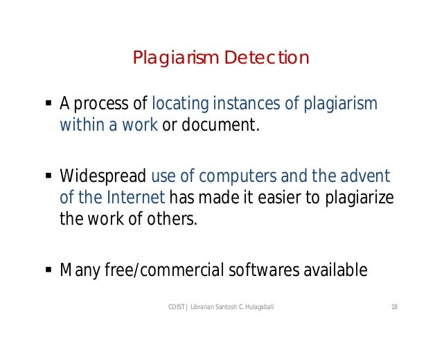 understanding plagiarism Learn how to recognize plagiarism, test your understanding, and earn a certificate to begin, watch this brief video of a teacher meeting with a student who has committed plagiarism click on the one-minute video below the academic community highly values the acknowledgment of contributions to .