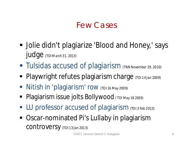 an understanding of plagiarism Many students are accused of plagiarism because they simply don't understand it and, therefore, don't know how to avoid it.