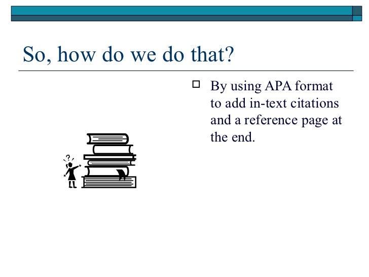 Apa paper on plagiarism