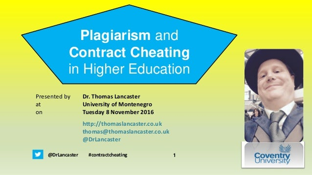 plagiarism in higher learning Advice: plagiarism, it's serious plagiarism is a significant problem confronting everyone in higher education it is a serious offense and, for a variety of reasons, it is getting more.