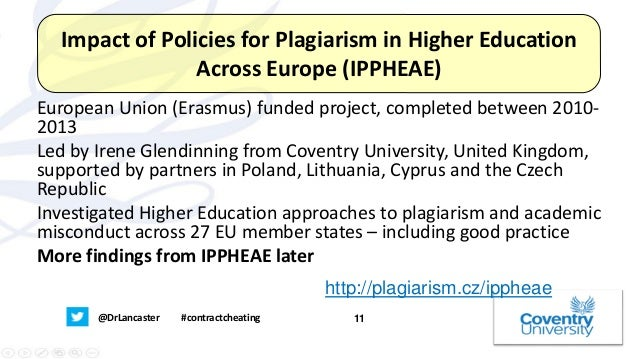 """plagiarism in higher education essay Unraveling plagiarism following an investigation conducted by a law firm and the middle states commission on higher education in his essay – """"plagiarism."""