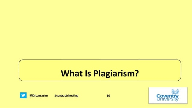 plagiarism in higher learning Student plagiarism as of two types - deliberate plagiarism and unintentional plagiarism most of the students pursuing higher academic qualifications plagiarise deliberately due to.