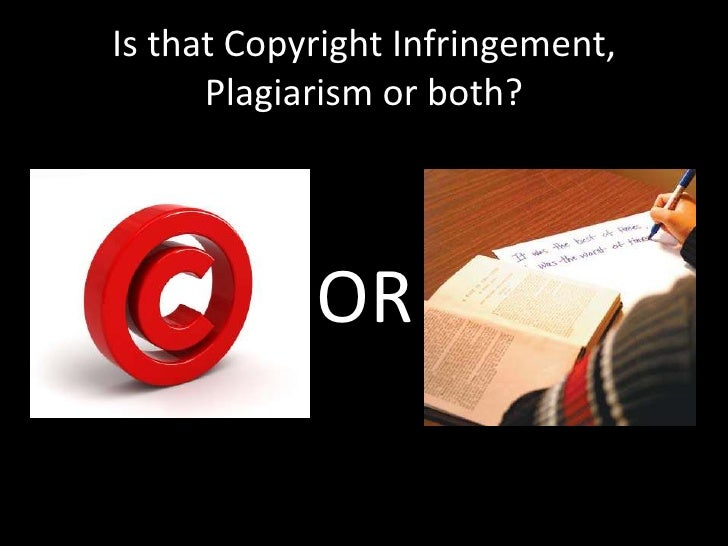 plagiarism and copyright infringement essay Copyright infringement has one victim, the copyright holder(s), plagiarism has two sets of victims, the copyright holder(s) and the people who were unaware about the origin of the work.