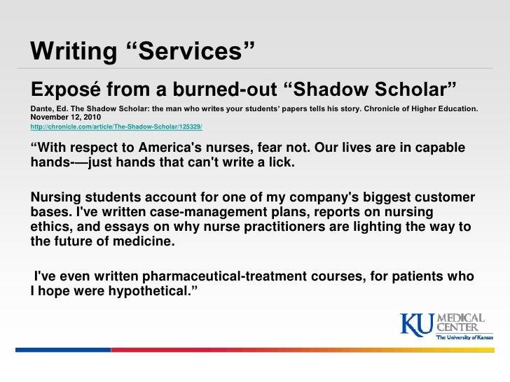 shadow scholar
