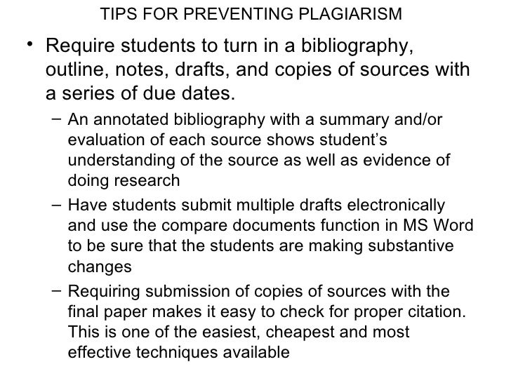 Plagiarism for faculty workshop for Compare two documents for plagiarism