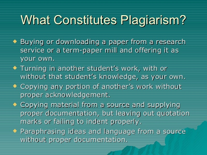plagiarism for new students This paper describes a practical experience showing the importance of regulating plagiarism at the university the experience takes place at the university of la rioja where new degrees have been adapted to european higher education framework the documents were treated through the blackboard platform and the.