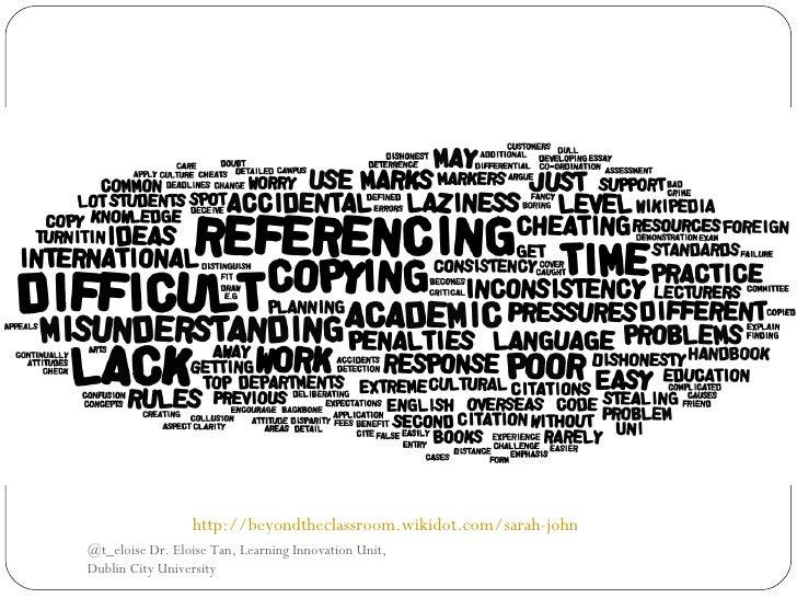 /                 http://beyondtheclassroom.wikidot.com/sarah-johnston@t_eloise Dr. Eloise Tan, Learning Innovation Unit,D...
