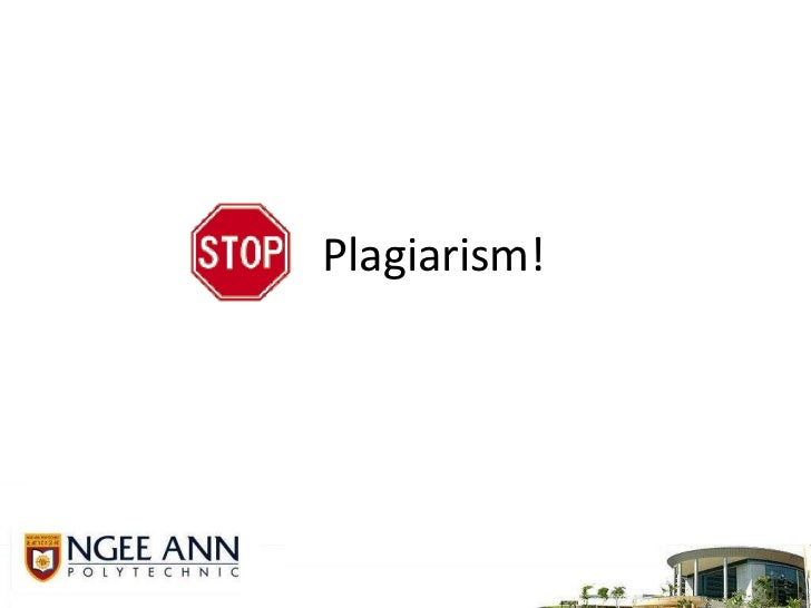 Plagiarism! <br />