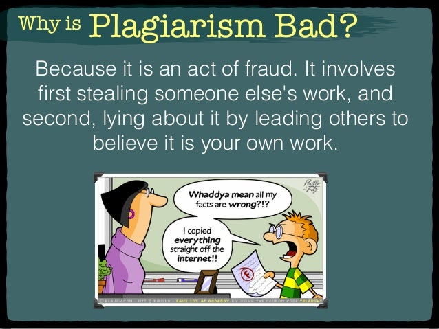 Why students commit plagiarism