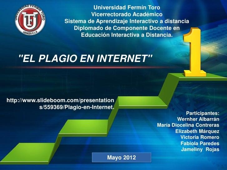 Universidad Fermín Toro                              Vicerrectorado Académico                     Sistema de Aprendizaje I...