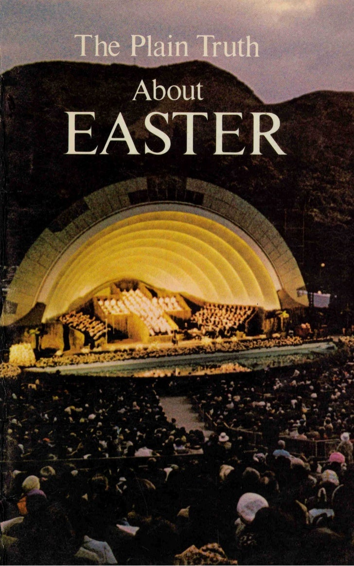 Plain truth-about-easter- prelim-1973-