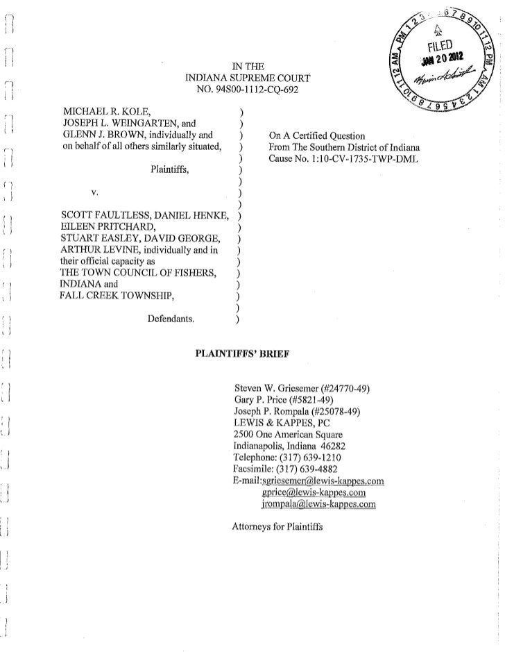 Plaintiffs brief 1.20.12