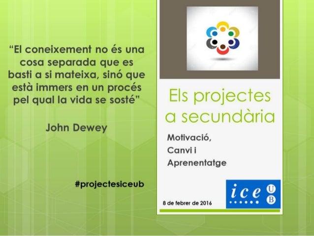 Institut Pla Marcell (Cardedeu) Treball per Projectes