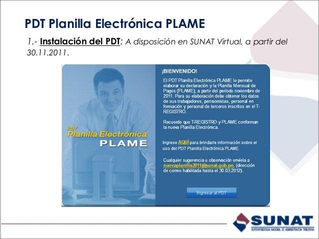 """1.- Ingrese a SUNAT Virtual/ Declaración y Pago/Descarga del PDT. 2: Pulse """"Módulos independientes PDT"""". 3: Ubique el PDT ..."""