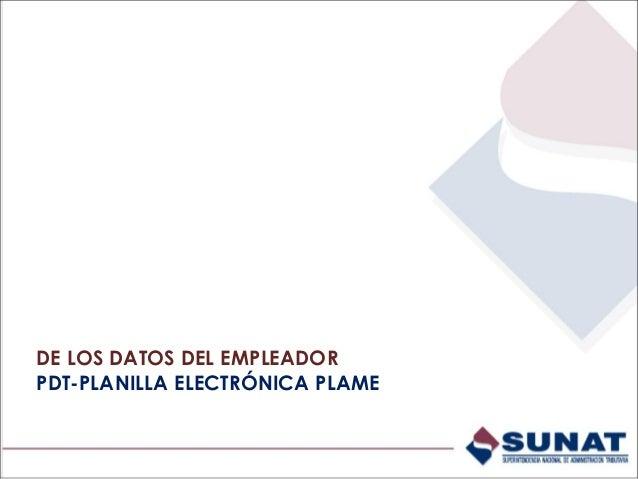 EMPLEADOR - Obtención de datos con conexión internet (Con Clave SOL) - Módulo Empleador: a través de esta opción el emplea...
