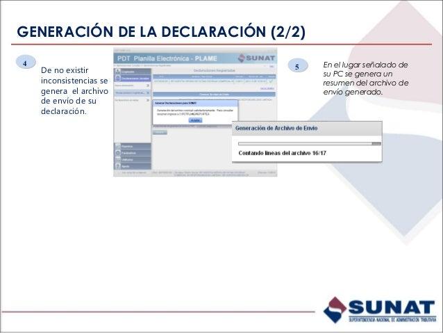 Declaraciones registradas – Copiar declaración Para copiar una DJ, previamente se debe generar la DJ destino con los datos...