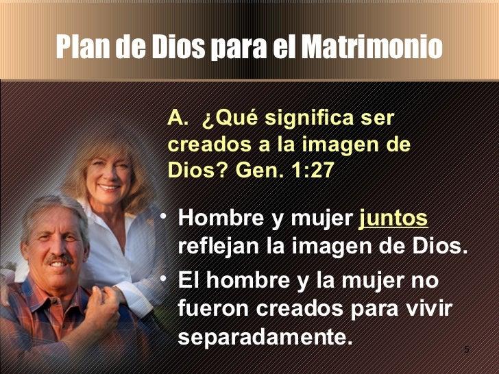 Matrimonio Y Familia En El Proyecto De Dios : Plan de dios para la pareja