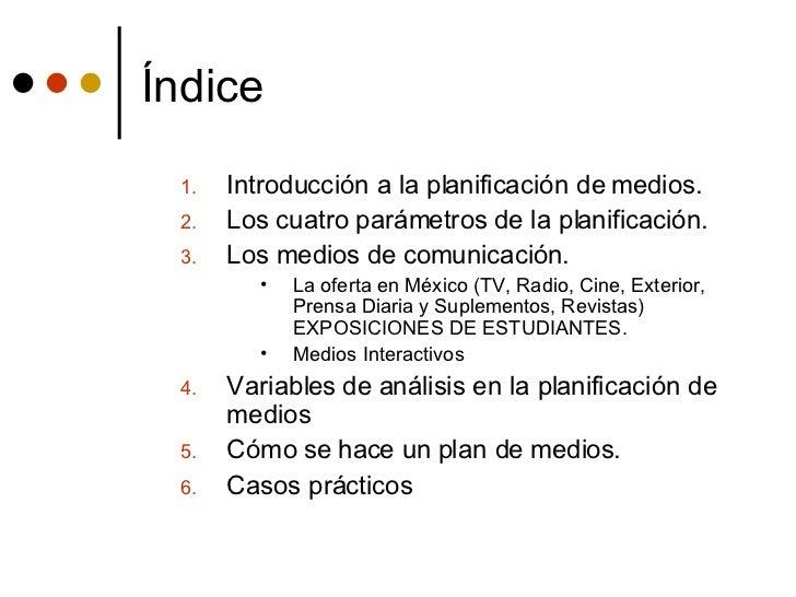 PlAn De MeDiOs Slide 2