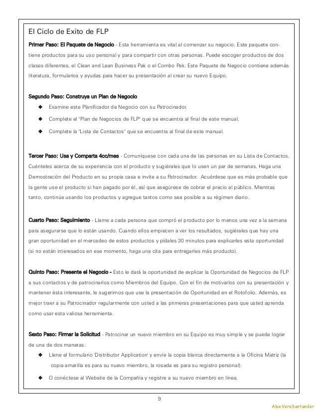 El Ciclo de Exito de FLPPrimer Paso: El Paquete de Negocio - Esta herramienta es vital al comenzar su negocio. Este paquet...