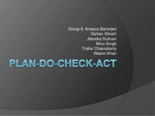 Group 6: Anasua Banerjee             Gahan Ghosh          Jitendra Dulhani               Minu Singh      Trisha Chakrabort...