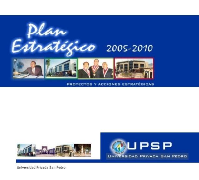 Plan Estrategico 2005 2010