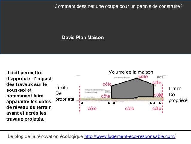 Comment dessiner sa maison cool base suivre pour le dessin de fondations en un fichier pdf - Comment faire un plan en coupe ...