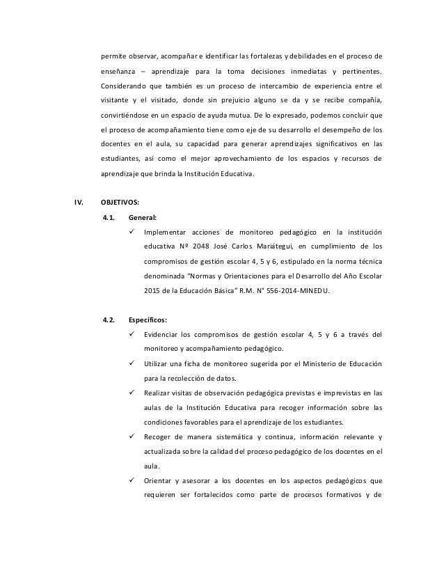 Plan Monitoreo SDFG-Julio Guzman Slide 2
