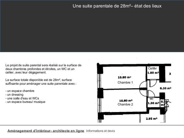 plan suite parentale 30m2 top suite parentale m idees avec suite parentale m ides avec with. Black Bedroom Furniture Sets. Home Design Ideas
