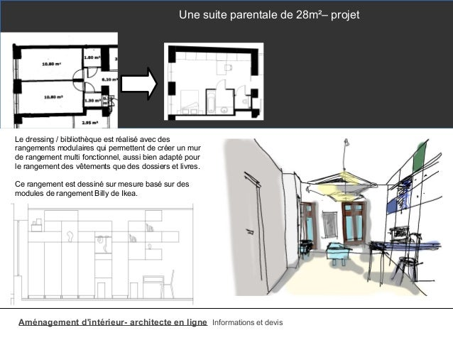 Plan suite parentale for Amenagement suite parentale 15m2