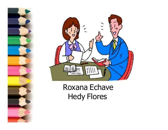 Roxana Echave Hedy Flores
