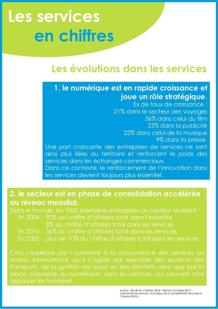 Plan action en faveur innovation services novembre 2011 Slide 3
