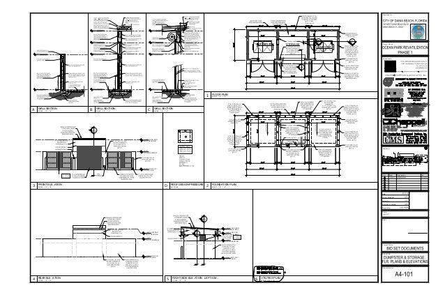 Plan addendum sheets for Nanawall plan