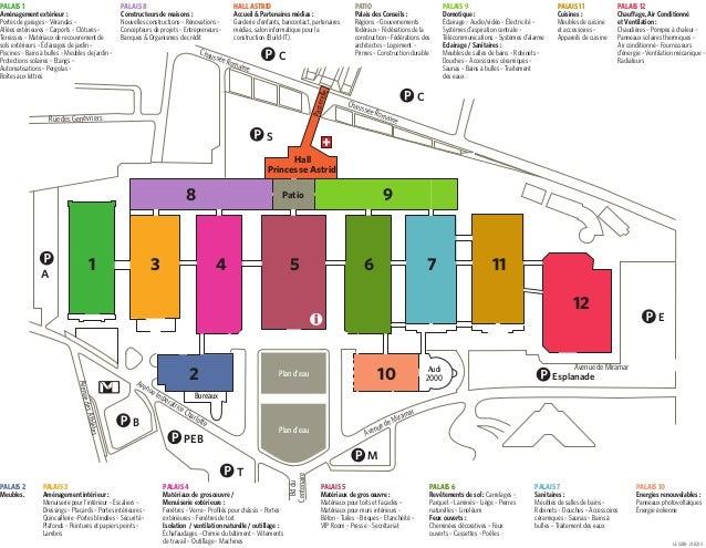 Plan batibouw 2013 for Batibouw 2017 datum