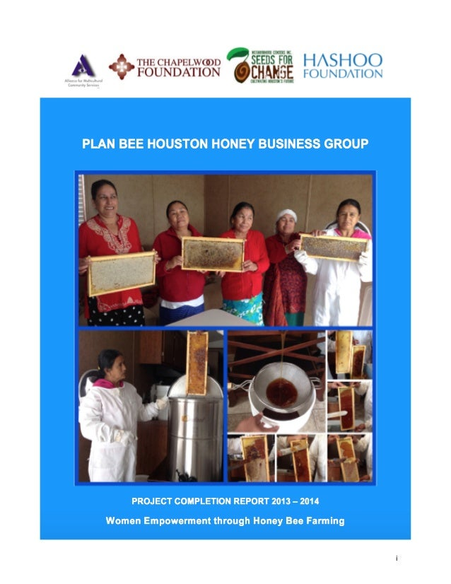 Beekeeping and honey processing business plan