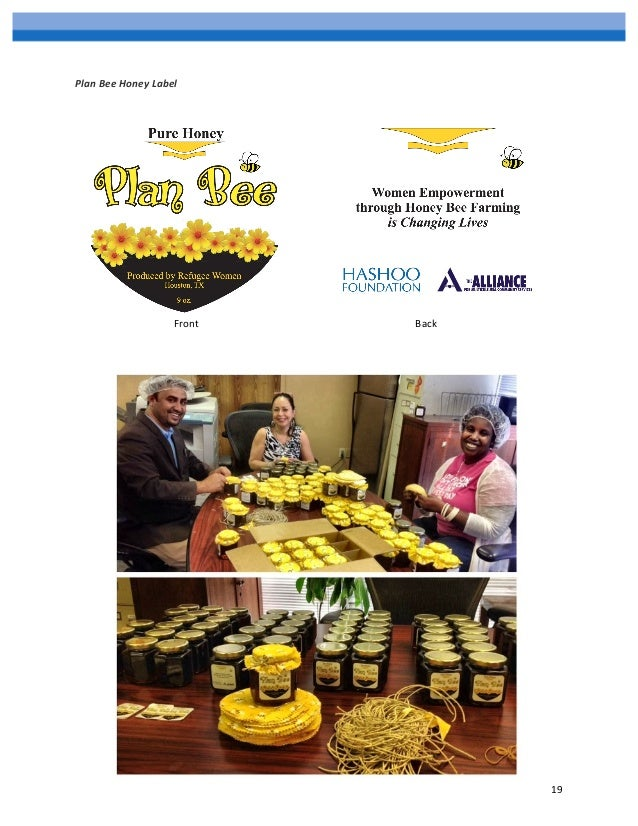 Honey bee business plans