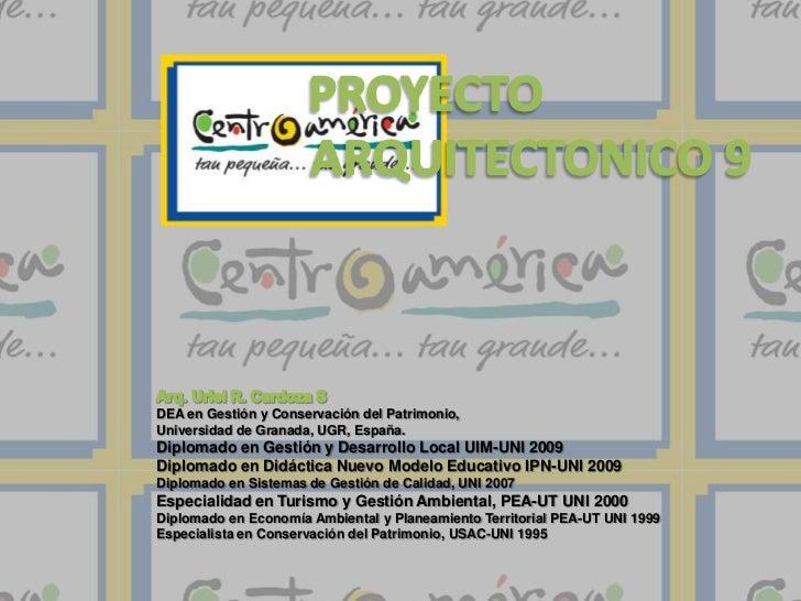DEA en Gestión y Conservación del Patrimonio,Universidad de Granada, UGR, España.Diplomado en Gestión y Desarrollo Local U...