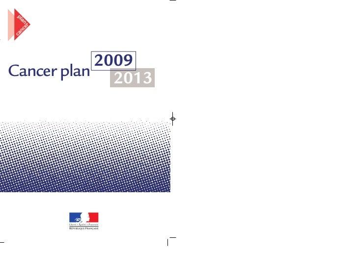 2009Cancer plan 2013