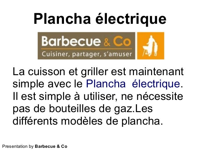 Plancha électrique Presentation by Barbecue & Co La cuisson et griller est maintenant simple avec le Plancha électrique. I...