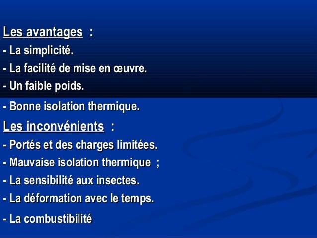 Planchers 05 - Mauvaise isolation thermique ...