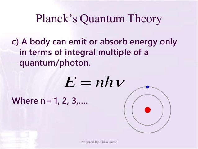 max planck the father of quantum Max planck's wiki: max karl ernst ludwig planck, frs  his father was a law professor in kiel and munich  also known as planck's action quantum.