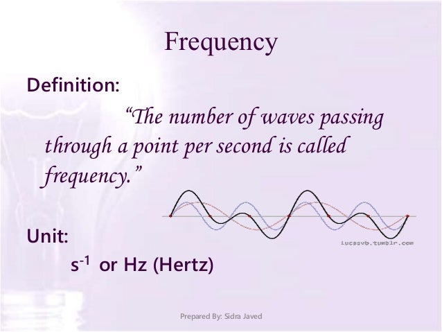 Frequency Definition: ...