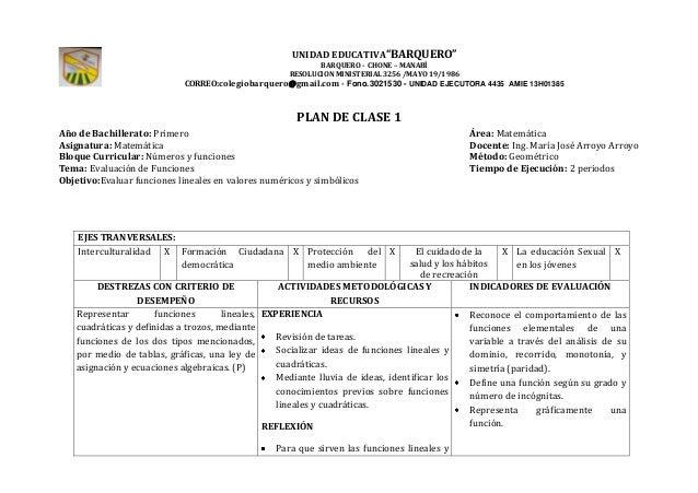 "UNIDAD EDUCATIVA""BARQUERO""BARQUERO - CHONE – MANABÍRESOLUCION MINISTERIAL 3256 /MAYO 19/1986CORREO:colegiobarquero@gmail.c..."