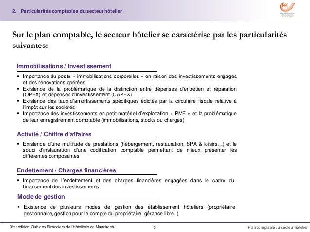Plan comptable h telier for Fournisseur materiel hotelier