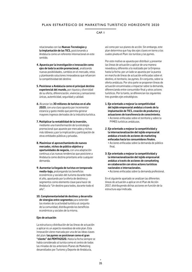 38 TURISMO Y DEPORTE DE ANDALUCÍA P L A N D E A C C I Ó N 2 0 1 7 2.2. CLAVES ESTRATÉGICAS Y GRANDES CIFRAS DEL PLAN DE AC...