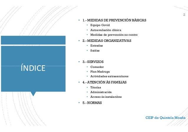 Plan de adaptación á situación Covid 21-22 Familias  Slide 2