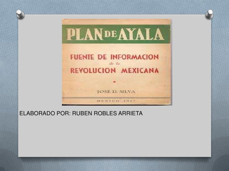 ELABORADO POR: RUBEN ROBLES ARRIETA